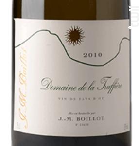 La Truffière - Domaine Jean-Marc Boillot - 2012 - Blanc