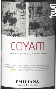 Coyam - Emiliana - 2014 - Rouge