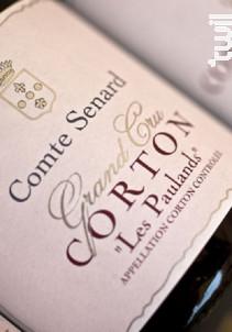 Corton Paulands Grand Cru - Comte Senard - 2009 - Rouge