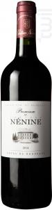 Premium Du Château Nénine - Château Nénine - 2014 - Rouge