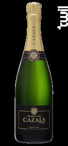 Carte Or Grand Cru - Brut - Champagne Cazals Claude - Non millésimé - Effervescent