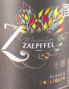 Cuvée l'Arlequin - Famille Zaepffel - 2018 - Blanc