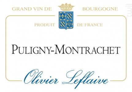 Puligny-Montrachet - Maison Olivier Leflaive - 2015 - Blanc