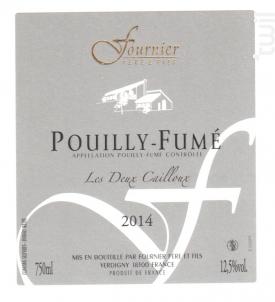 Pouilly Fumé Les Deux Cailloux - FOURNIER Père & Fils - 2016 - Blanc