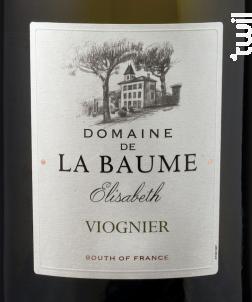 Elisabeth - DOMAINE DE LA BAUME - 2018 - Blanc