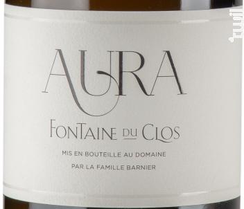Aura - Domaine Fontaine du clos - 2018 - Blanc