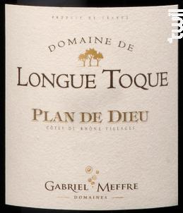 Domaine de Longue Toque - Plan de Dieu - Maison Gabriel Meffre - 2015 - Rouge