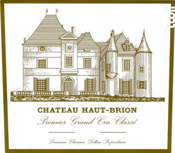 Château Haut-Brion - Domaines Clarence Dillon- Château Haut-Brion - 2013 - Rouge