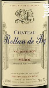 Château Rollan de By - Domaines Rollan de By - 2012 - Rouge
