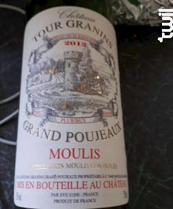 Château Tour Granins Grand Poujeaux - Château Granins Grand Poujeaux - 2005 - Rouge