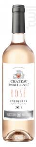 CORBIÈRES ROSÉ - Chateau Pech-latt - 2017 - Rosé