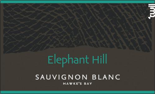 Sauvignon blanc - ELEPHANT HILL - 2017 - Blanc