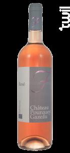 Rosé - Château Pourquey Gazeau - 2018 - Rosé