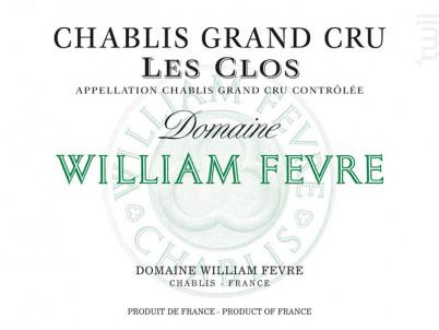 Chablis Grand Cru - Les Clos