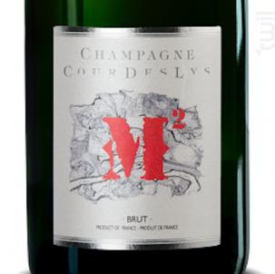 Cuvée M² - Merveilles de Marne - Champagne Cour Des Lys - Non millésimé - Effervescent
