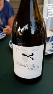 Domaine vico - Domaine Vico - 2017 - Rouge