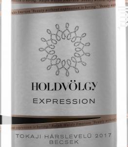 Expression - harslevelu - HOLDVÖLGY - 2017 - Blanc