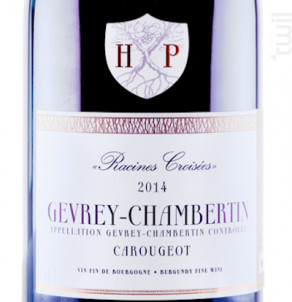 CAROUGEOT - GEVREY-CHAMBERTIN - Maison Henri Pion - 2014 - Rouge