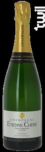 Extra-brut Blanc De Blancs - Champagne Etienne Chéré - Non millésimé - Effervescent