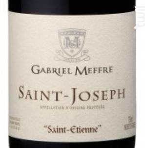 Saint Etienne - Maison Gabriel Meffre - 2016 - Rouge