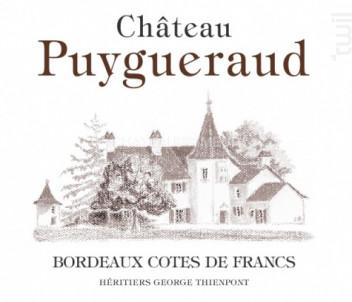 Château Puygueraud - Château Puygueraud - 2017 - Rouge
