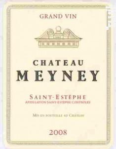 Château Meyney - Château Meyney - 2008 - Rouge