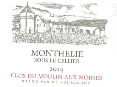 Monthélie Sous le Cellier - Clos du Moulin aux Moines - 2014 - Blanc