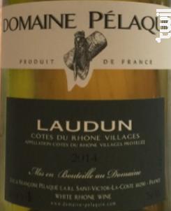Laudun - Domaine Pélaquié - 2011 - Blanc