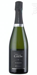 Cuvée Elégance Extra-Brut - Champagne Vincent Couche - Non millésimé - Effervescent
