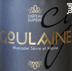 Cru Goulaine - Château Guipière - 2016 - Blanc
