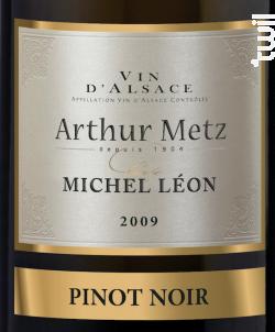 Cuvée Michel Léon Pinot noir - Arthur METZ - 2015 - Rouge