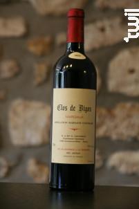 Cru Artisan - Clos de Bigos - 2000 - Rouge