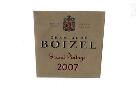 Grand Vintage 2009 - Champagne BOIZEL - 2009 - Effervescent