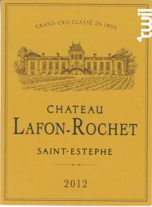 Château Lafon-Rochet - Château Lafon-Rochet - 2012 - Rouge