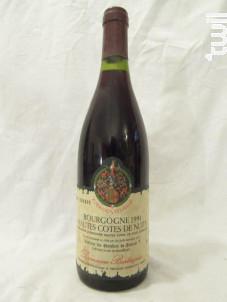Hautes Côtes de Nuits - Domaine Bertagna - 1991 - Rouge
