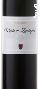 Monte Do Zambujeiro - Quinta do Zambujeiro - 2015 - Rouge