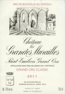 Château les grandes murailles - Les Grandes Murailles - 1990 - Rouge