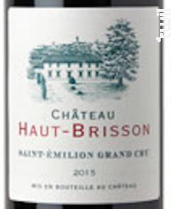 Chateau Haut Brisson - Château Haut Brisson - 2018 - Rouge