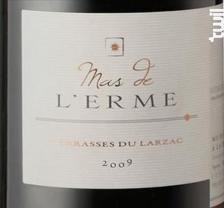 Terrasses du Larzac - MAS DE L'ERME - 2015 - Rouge