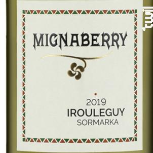 Mignaberry - Cave d'Irouleguy - 2019 - Blanc