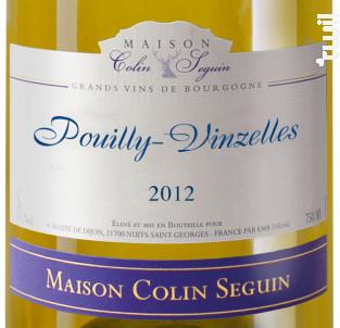 Pouilly-Vinzelles - Maison Colin Seguin - 2012 - Blanc