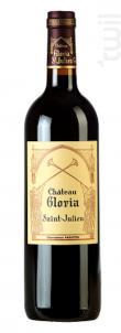 Château Gloria - Domaines Henri Martin - Château Gloria - 2012 - Rouge