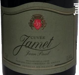 Cuvée Jamet - Caves Jamet - Non millésimé - Rouge