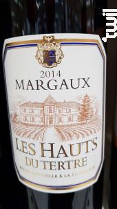 LES HAUTS DU TERTRE - Château du Tertre - 2014 - Rouge