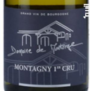 Montagny 1er Cru Montorge - Domaine de Montorge - 2017 - Blanc