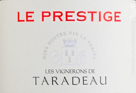 Prestige - Les Vignerons de Taradeau - 2018 - Rosé