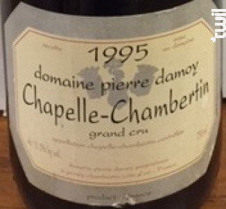 Chapelle chambertin - Pierre Damoy - 1978 - Rouge