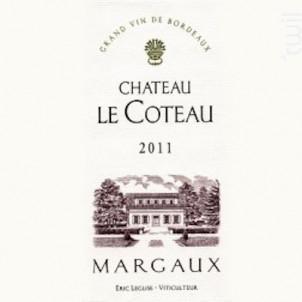 Château Le Coteau - Château Le Coteau - 2011 - Rouge