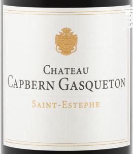 Château Capbern Gasqueton - Château Capbern Gasqueton - 2012 - Rouge