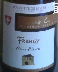 Notre Altesse - Vincent COURLET Frangy - 2017 - Blanc